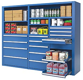 ... Doors, Drawers, Roll Out Shelves And Other Storage Products Allow Storage  Walls To Handle Almost Every Need