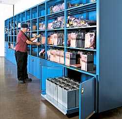 Storage Wall Systems Are Available With A Variety Of Doors And Locking  Systems To Protect Your Stored Items. Door Options Include Sliding Doors,  ...